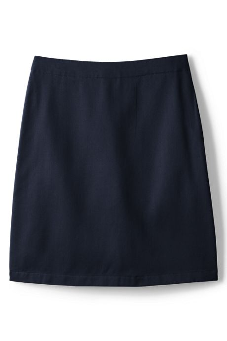 School Uniform Little Girls Blend Chino Skort Top of Knee