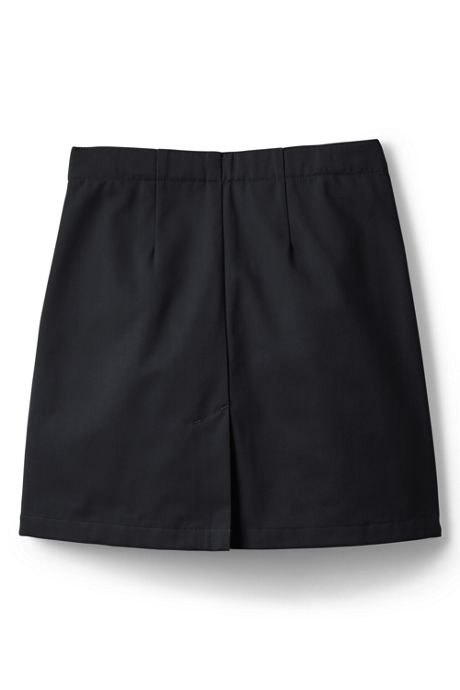 Girls Slim Blend Chino Skort Above Knee