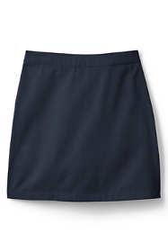 School Uniform Girls Plus Blend Chino Skort Above Knee