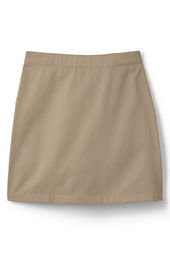 Girls' Short Chino Skort (Above The Knee)