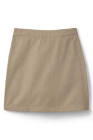 School Uniform Girls Plus Blend Chino Skort Above Knee
