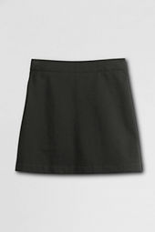 School Uniform Short Chino Skort (Above The Knee)