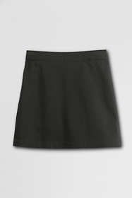 School Uniform Little Girls Slim Blend Chino Skort Above Knee