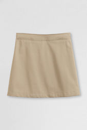 Little Girls' Short Chino Skort (Above The Knee)