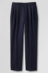 Men's Pleat Front Year Round Suit Pants