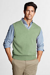 Men's Fine Gauge Supima Cotton Sweater Vest