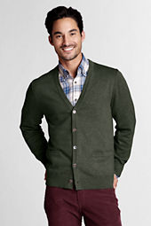 Men's Fine Gauge Supima Cotton Cardigan Sweater