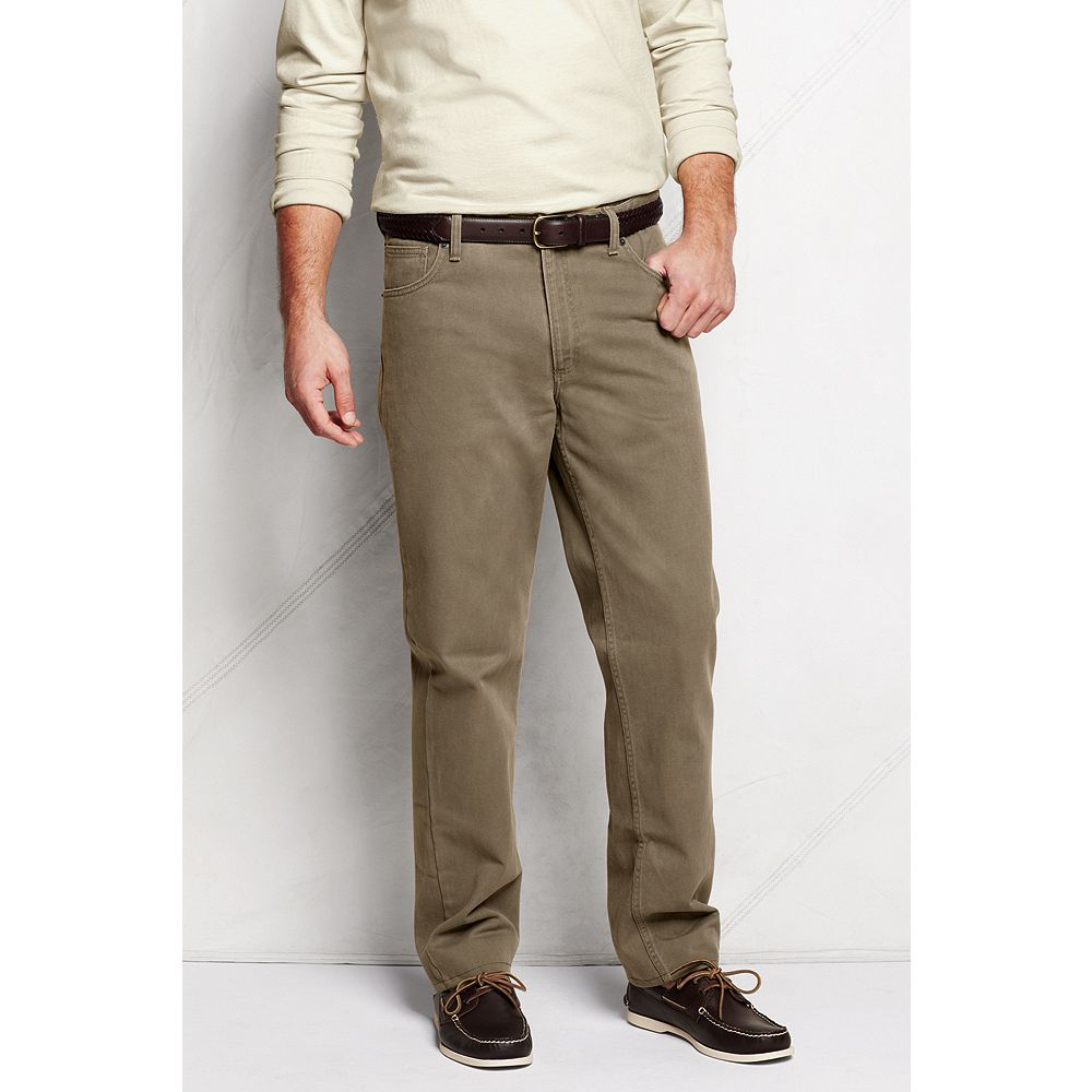 Lands' End Men's Comfort Waist Jeans at Sears.com