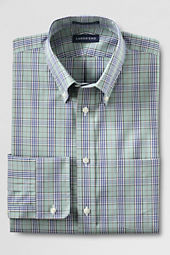 Men's Tailored Fit No Iron Pinpoint Dress Shirt