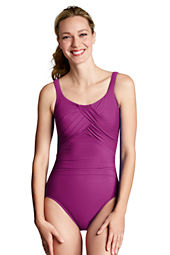 Women's Solid Carmela One Piece Slender Suit