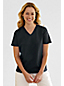 Women's Petite Refined Jersey Short sleeve V-neck Tee