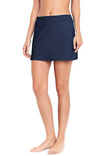 Women's Tummy Control Skirt Swim Bottoms, Front