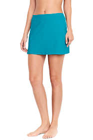 Women's Long SwimMini Swim Skirt with Tummy Control
