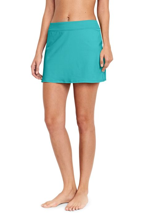 Women's Petite SwimMini Swim Skirt with Tummy Control
