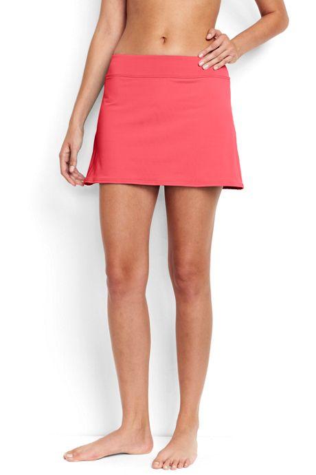 Women's Tummy Control Skirt Swim Bottoms