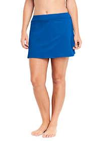 Women's Plus Size Tummy Control Skirt Swim Bottoms