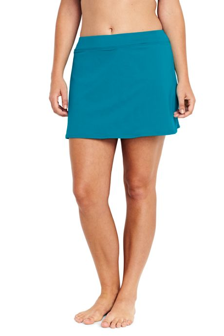 Women's Plus Size Tummy Control Swim Skirt SwimMini