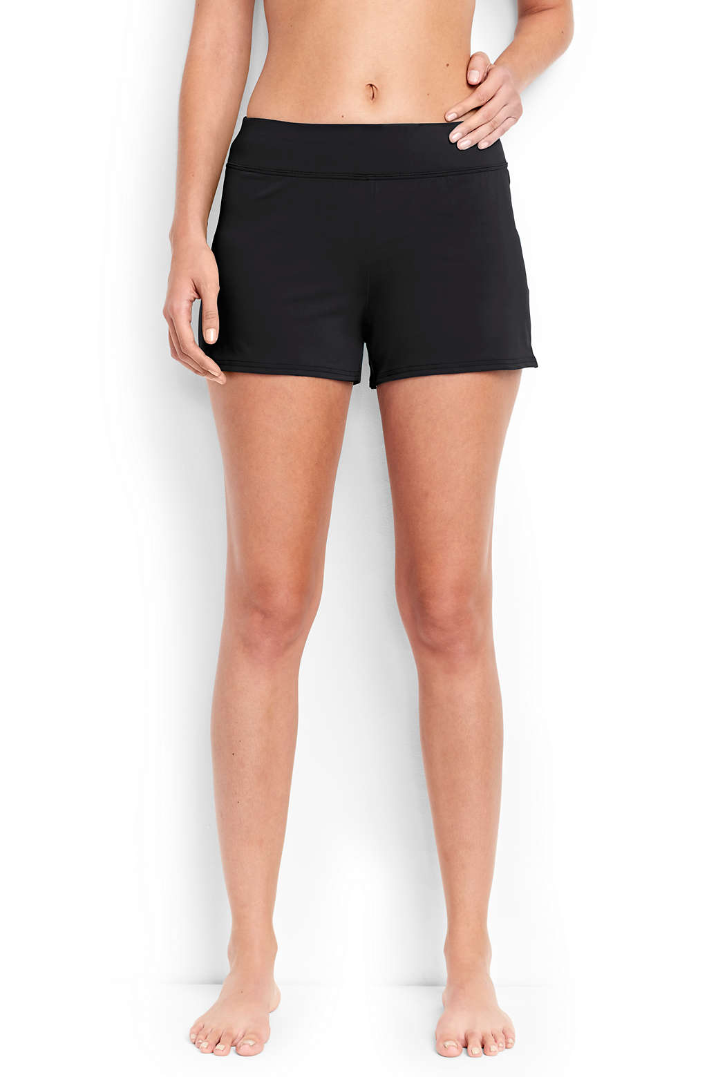 ea3366270df Women s Swim Shorts with Tummy Control from Lands  End