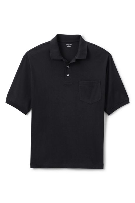 Men's Big Short Sleeve Pocket Pima Polo Shirt