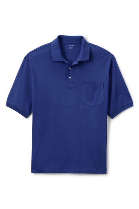 Men's Short Sleeve Pocket Pima Polo Shirt