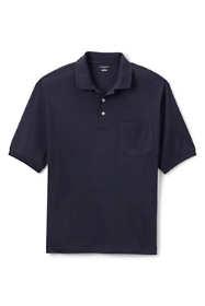 Men's Big Short Sleeve Pocket Pima Polo Shirt