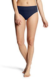Women's Beach Living High Rise Swimsuit Bottom with Tummy Control