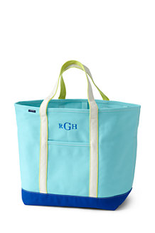 Extra Large Open Top Coloured Canvas Tote