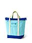 Large Zip Top Coloured Canvas Tote