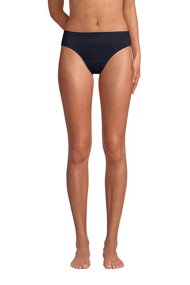 Women's High Waisted Bikini Bottoms, Front