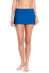 Women's Low Rise Sporty Mini Swim Skirt Swim Bottoms