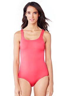 Women's Tugless Swimsuit with soft cup bra