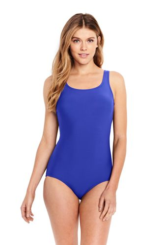 3192686f4d4c7 Women's Tugless One Piece Swimsuit from Lands' End