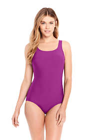 Women's Long Tugless One Piece Swimsuit Soft Cup