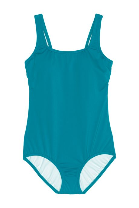Women's DD-Cup Tugless One Piece Swimsuit Soft Cup