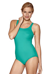 Women's  Tugless Swimsuit with shelf bra