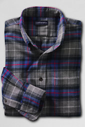 Men's Long Sleeve Flannel Buttondown Shirt