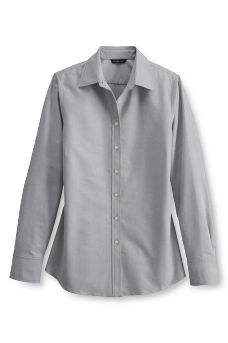 Women's Regular Long Sleeve Oxford Shirt