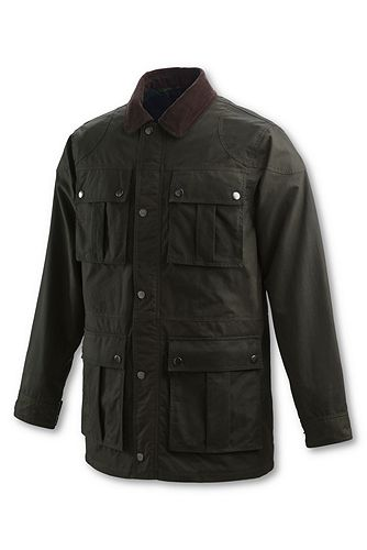 Lands' End Oil Cloth Engineer Coat