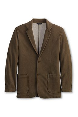 Luxury Knit Soft Jacket: Cappuccino Heather