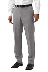Men's Pre-hemmed Plain Front Tailored Fit Year'rounder Trousers