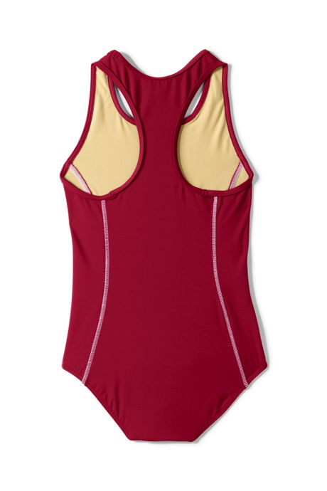 School Uniform Girls Tank Swimsuit