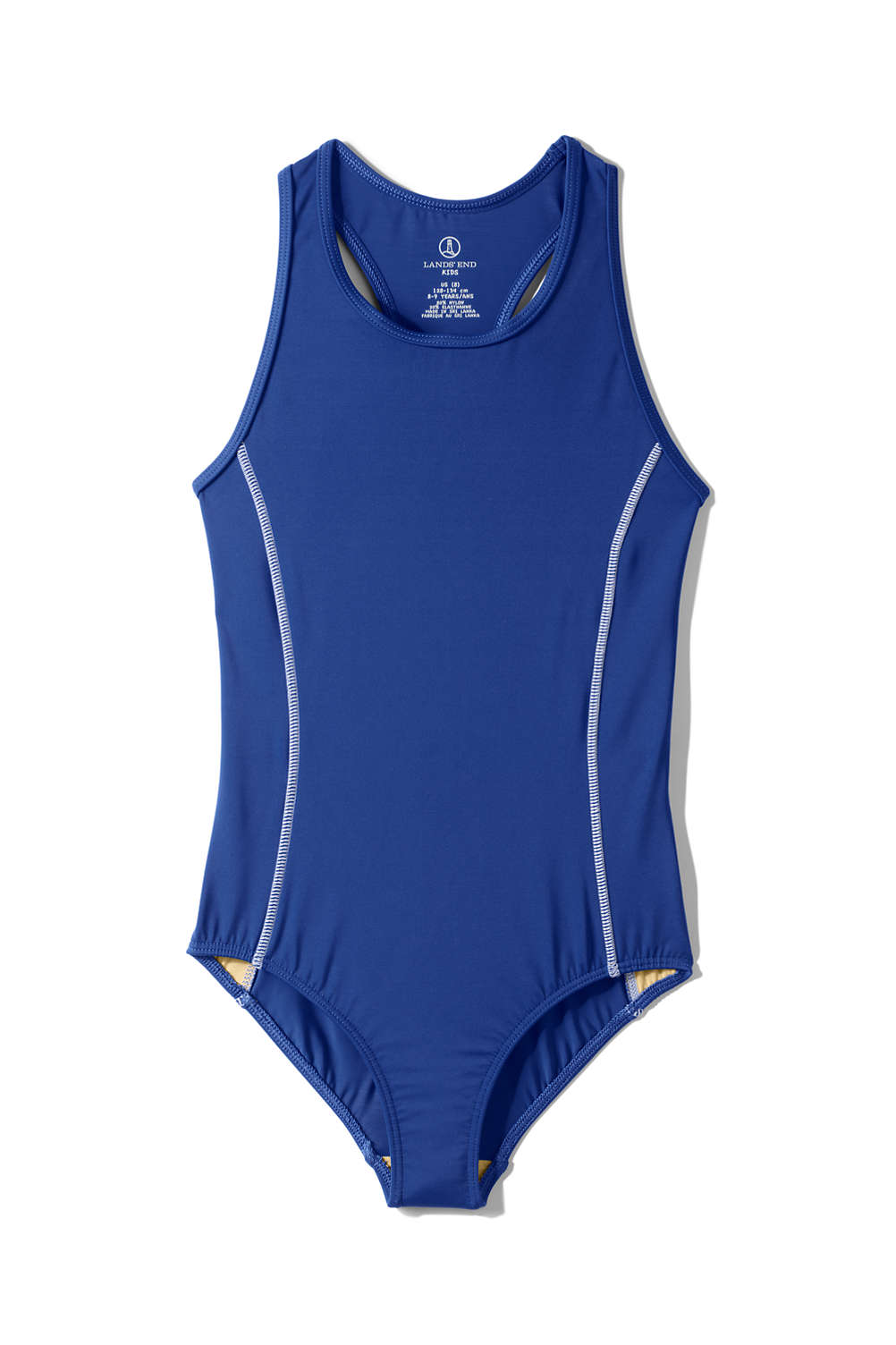 d089e874f2 Girls Tank Swimsuit from Lands' End