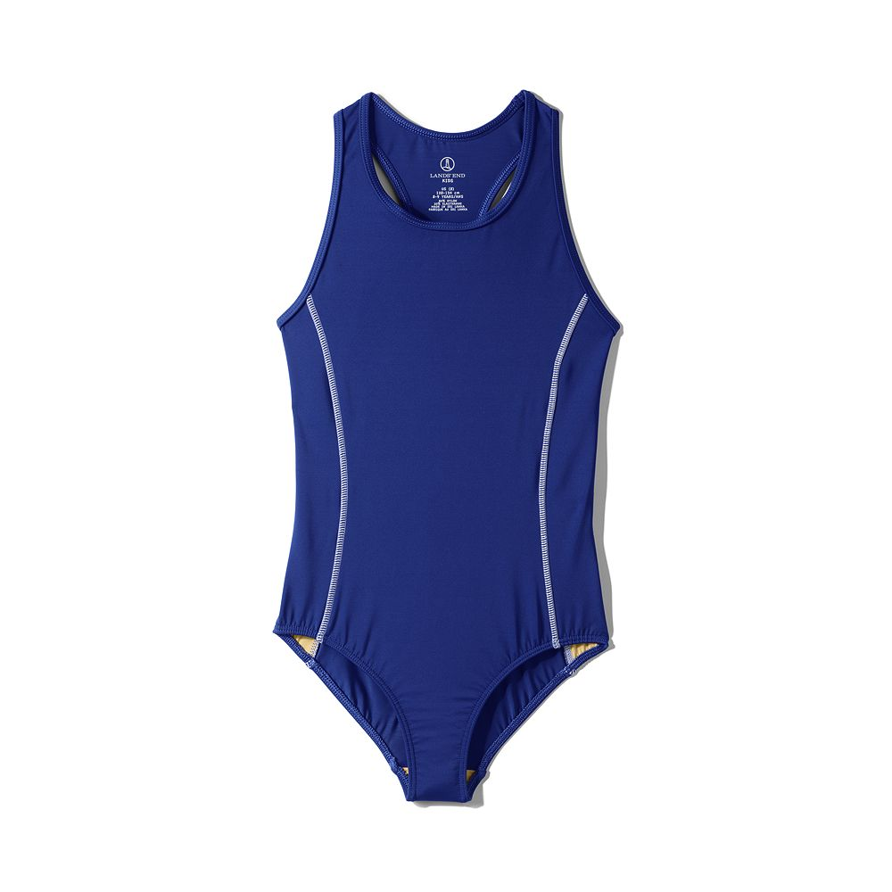 Lands' End School Uniform Little Girls' Y-back One Piece Swimsuit at Sears.com
