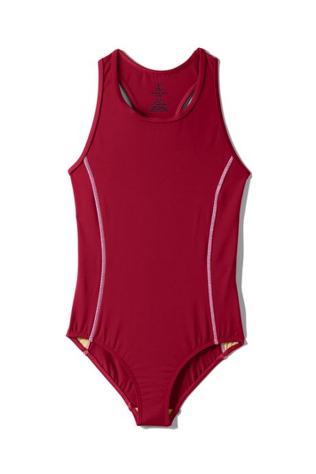 School Uniform Little Girls Tank Swimsuit