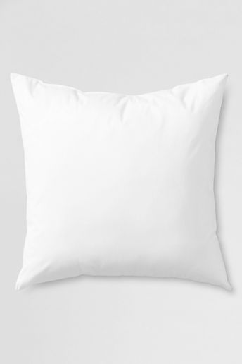 20 x 20 Decorative Pillow Insert - White,