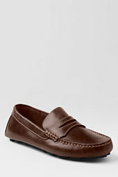School Uniform Men's Driving Moccasin Shoes