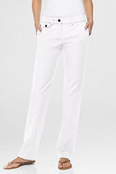 Women's Pre-hemmed Chino Straight Leg Pants