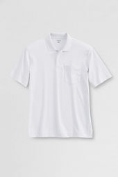 Men's Short Sleeve Pima Polo Shirt with Pocket