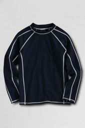Long Sleeve Solid Rash Guard Shirt