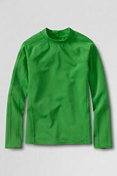 School Uniform Boys' Long Sleeve Solid Rash Guard